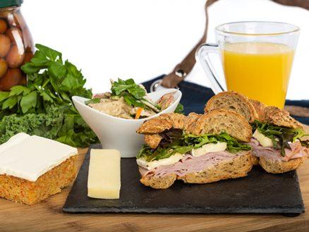 Service traiteur CHUM - croissant jambon et brie